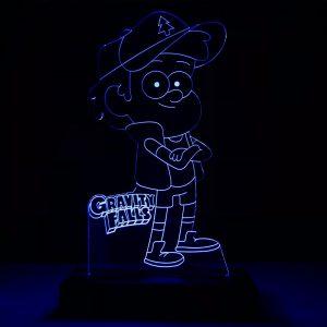 Abajur Gravity Falls