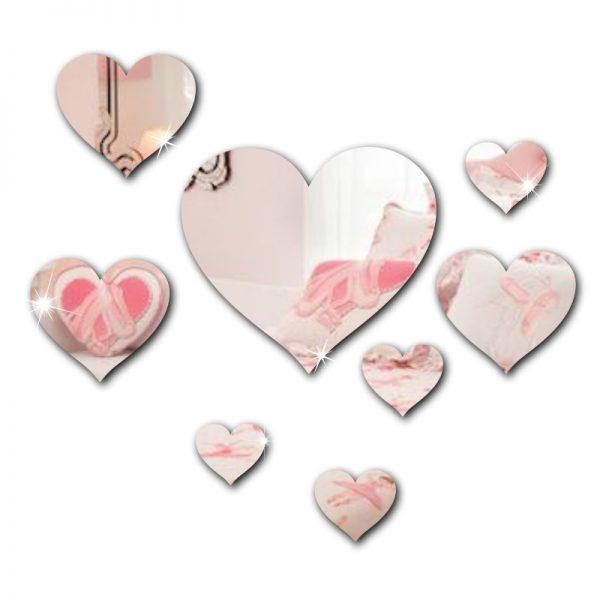 Kit Coração Espelhado