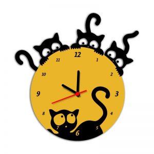 Relógio de Gatinhos