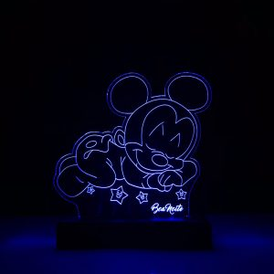 Abajur Mickey Dormindo