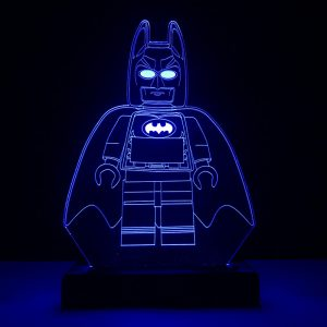Luminária Batman Lego