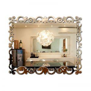 Espelho Veneziano Arabesco Retangular