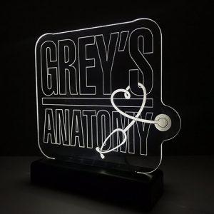 Luminária Grey's Anatomy