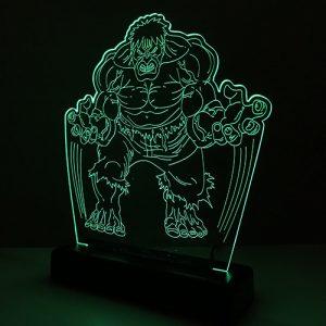 Abajur Hulk