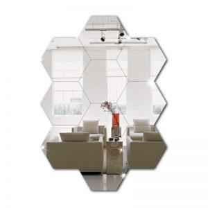 Hexagonal em Acrílico