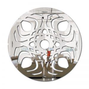 Espelho Mandala Abstrato em Acrílico