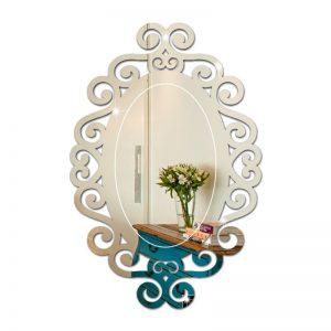 Espelho Oval Arabesco