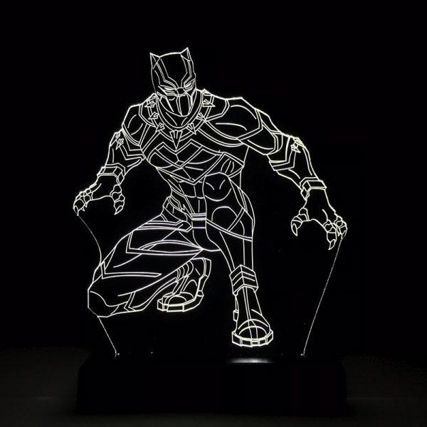 Luminária Pantera Negra