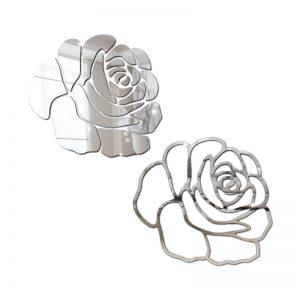 Rosa Grande Espelhada