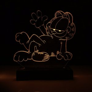 Abajur Gato Garfield