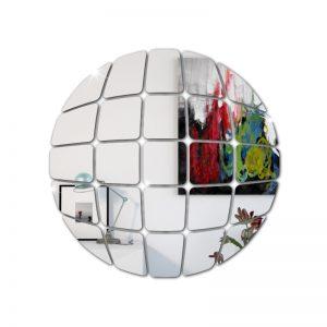 Globo Danceteria Em Espelho Acrílico