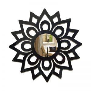 Espelho Decorativo Mandala Florada