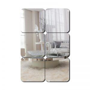 Espelho Decorativo 6 Quadrados